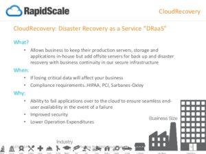 cloud recovery-rapidscale