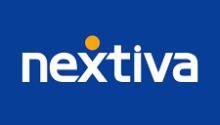 nextiva logo-blue